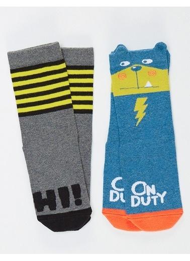 Denokids Çorap Gri